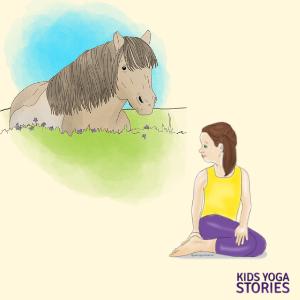 horse yoga poses for kids | Kids Yoga Stories